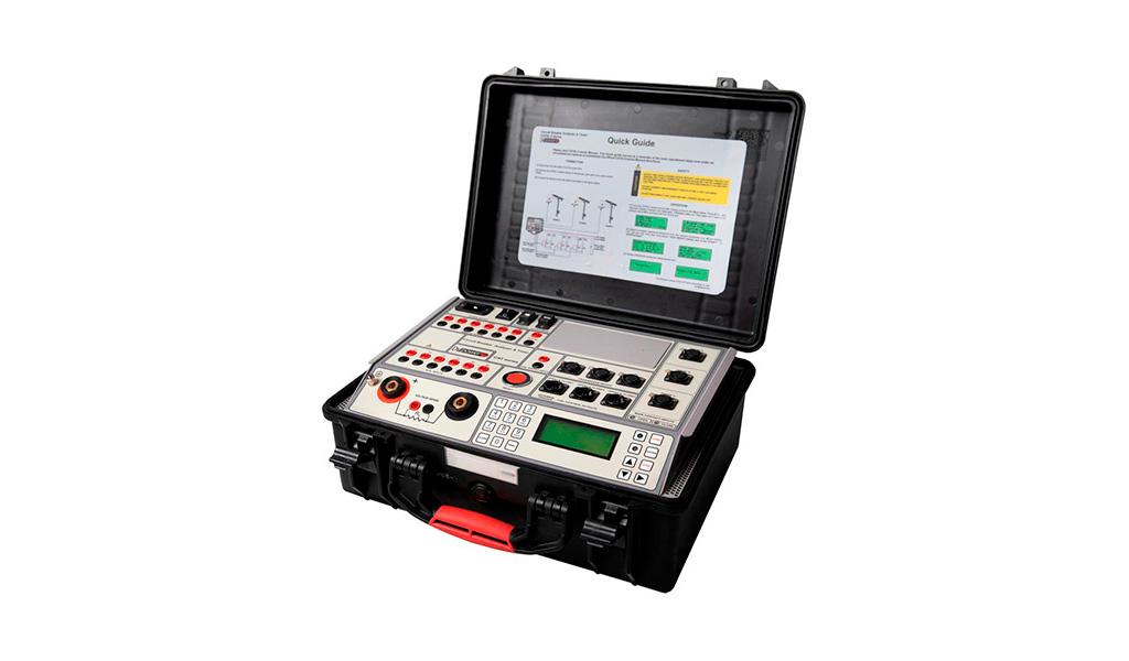 SERVICIOS Y SOLUCIONES ELECTRO INDUSTRIALES S.A.C - Equipos de prueba para Interruptores de Potencia CAT series - DV Power