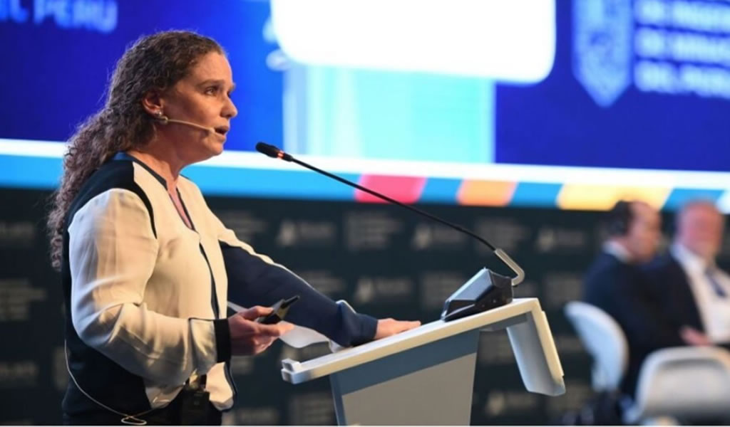 """Claudia Cooper: """"La minería debe ser una oportunidad de desarrollo colectivo"""""""