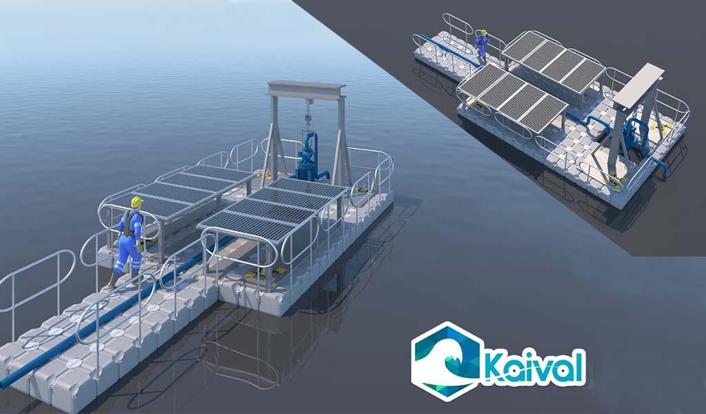 Kaival: soluciones autosustentables para recolección de agua