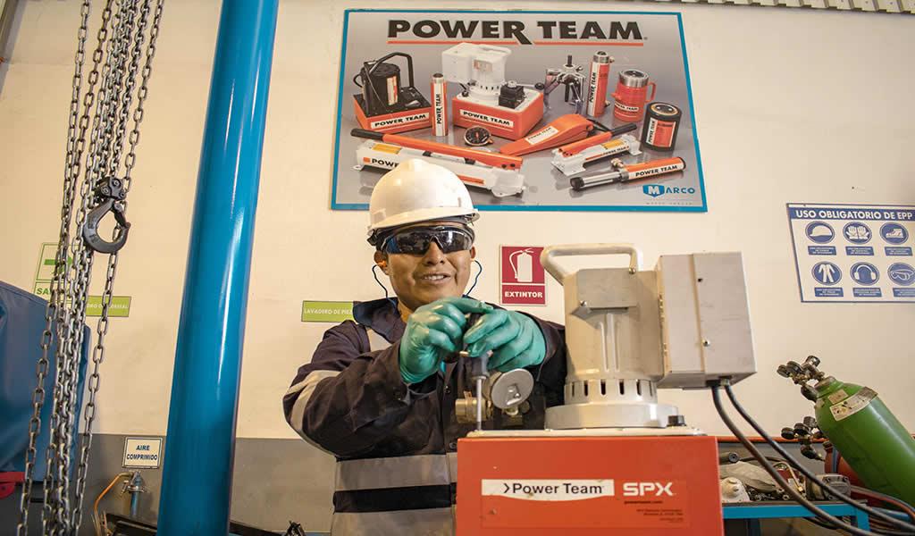Marco Peruana: bombas electrohidráulicas para herramientas de alto poder