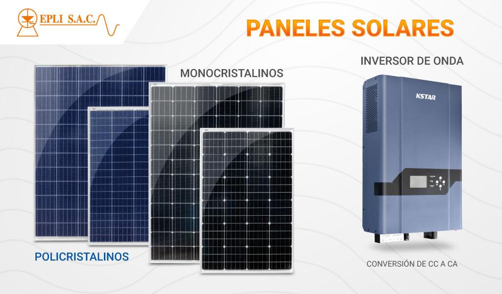 EPLI: paneles solares monocristalinos