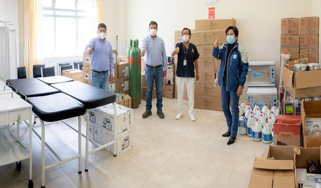Cajamarca: Pan American Silver implementa equipos médicos en 17 establecimientos de salud en Cajabamba