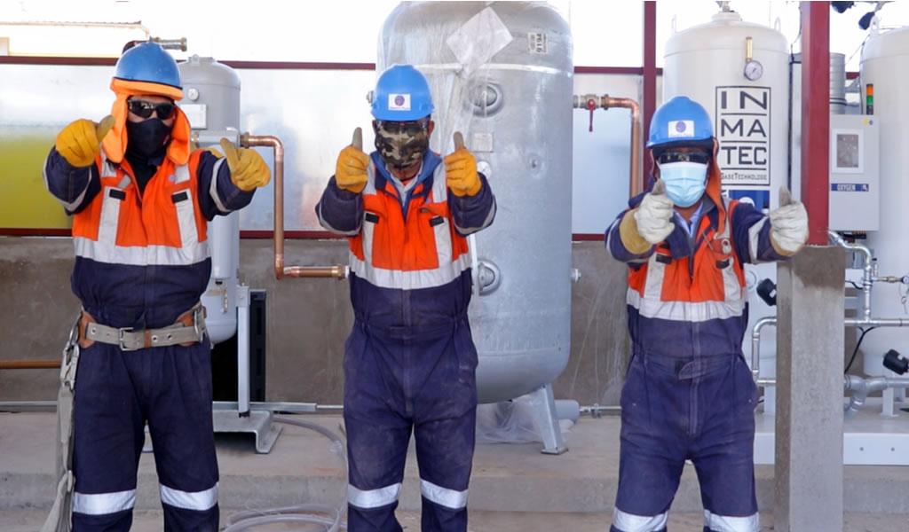 Generadoras y distribuidoras de energía ponen el hombro en la producción de oxígeno