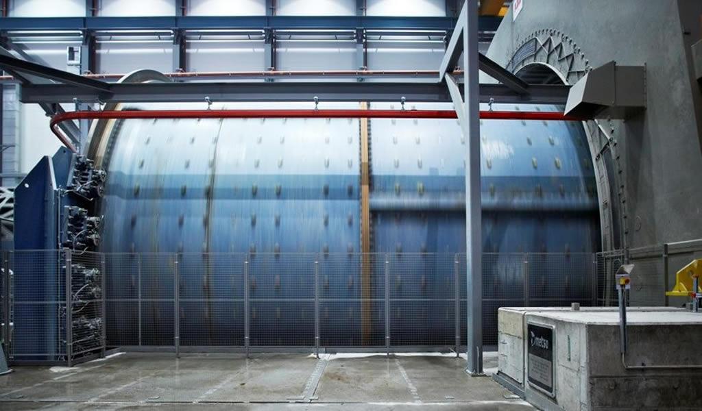Metso Outotec: atención especial sobre la carga congelada de un molino