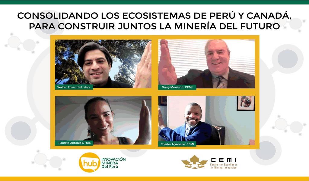 El Hub de Innovación Minera del Perú y CEMI de Canadá firman acuerdo de cooperación