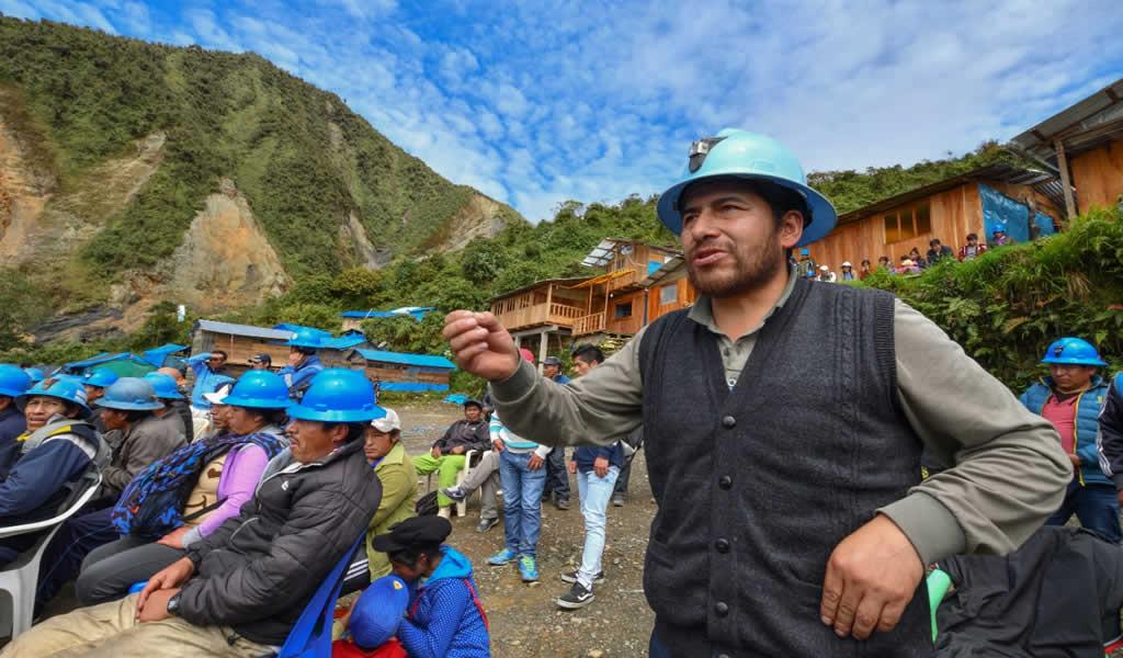 Minem espera acabar en julio la Política Nacional de la Pequeña Minería y Minería Artesanal
