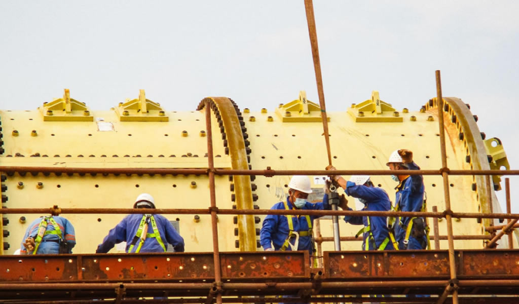 Kamoa-Kakula de Ivanhoe Mines comenzará la producción de cobre dentro de un mes