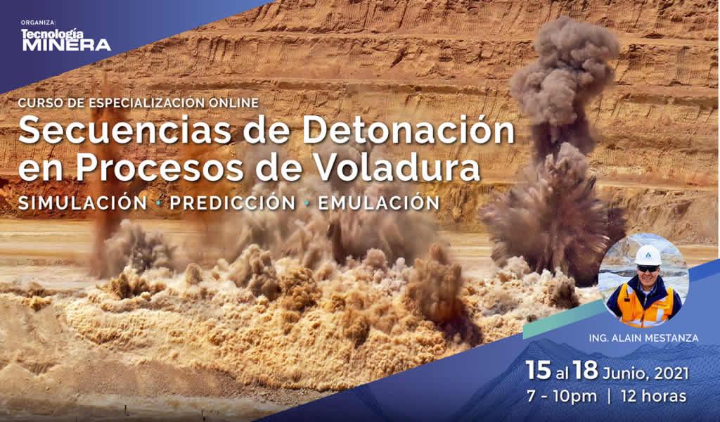 Secuencias de detonación en procesos de voladura: simulación, predicción y emulación