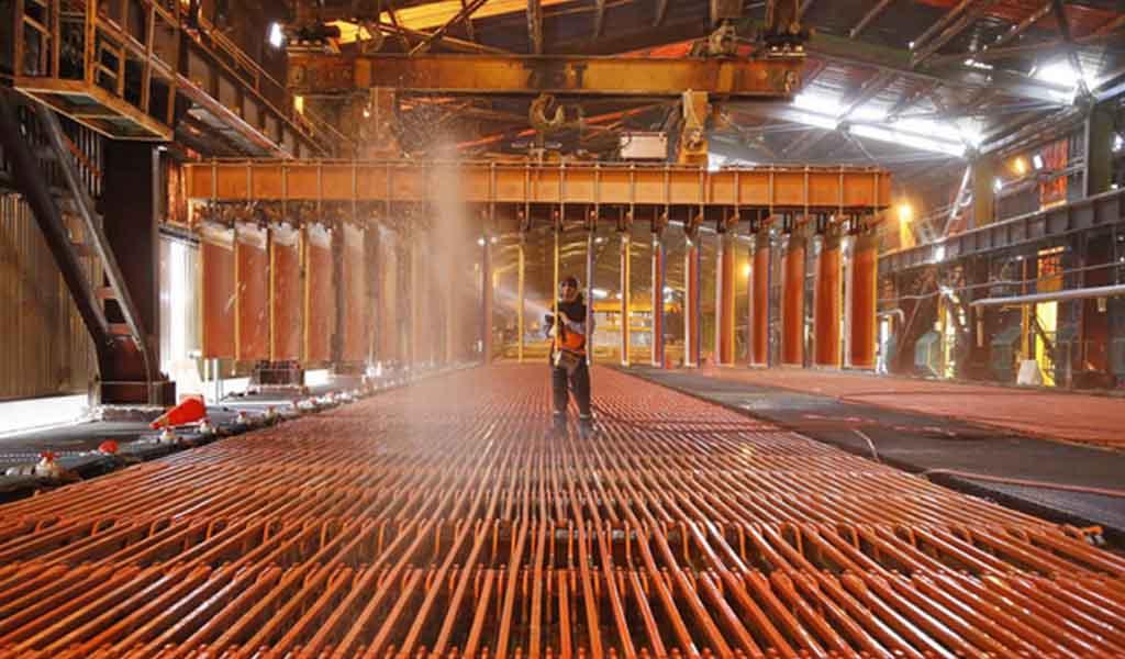 El precio promedio del cobre creció 94% en mayo del 2021