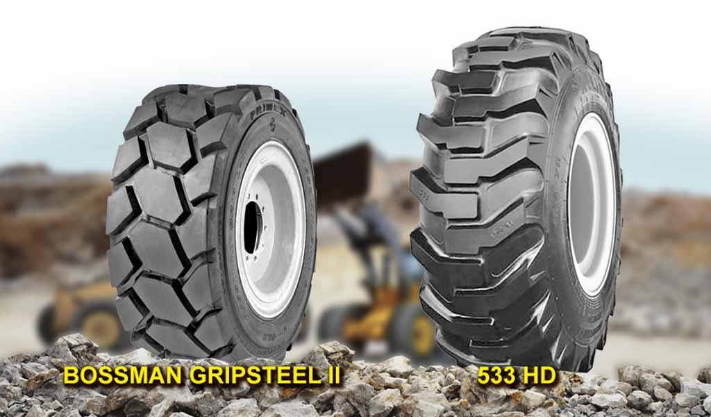 Neumáticos para servicio en construcción e industria