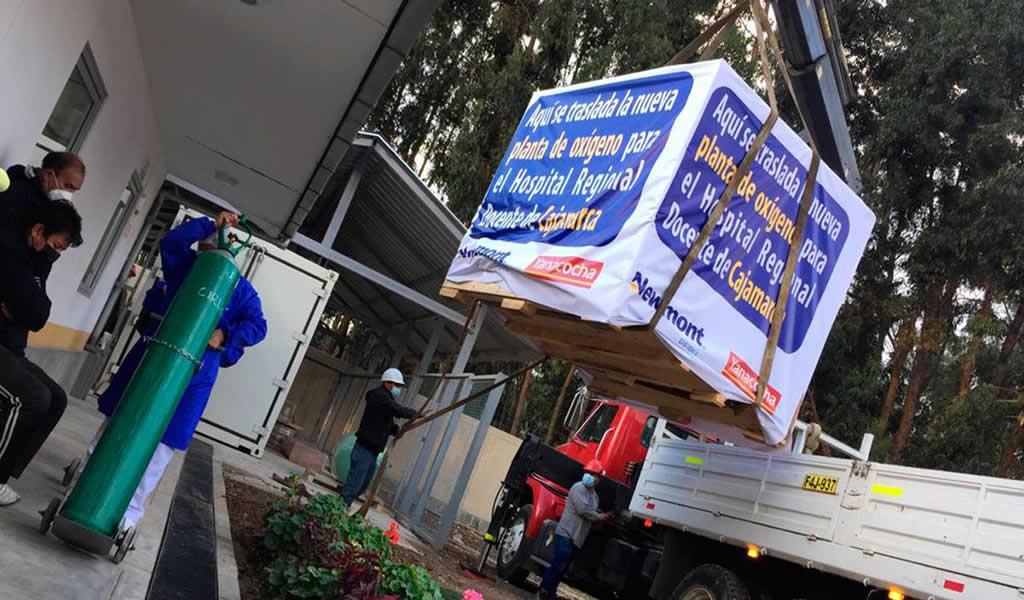 Yanacocha dona segunda planta de oxígeno al Hospital Regional Docente de Cajamarca