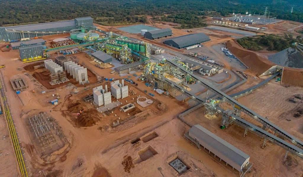 Kamoa-Kakula exporta el primer concentrado de cobre