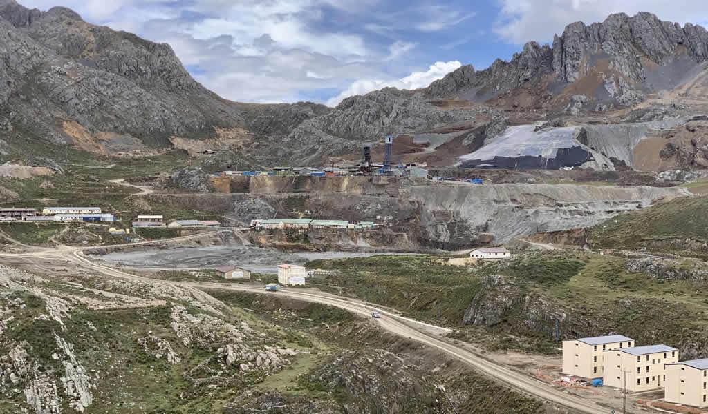 Yauricocha procesó 328,909 toneladas durante el segundo trimestre de 2021