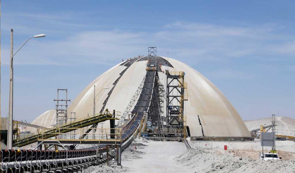 Valor de exportaciones de cobre en Chile sube 40.5% en agosto