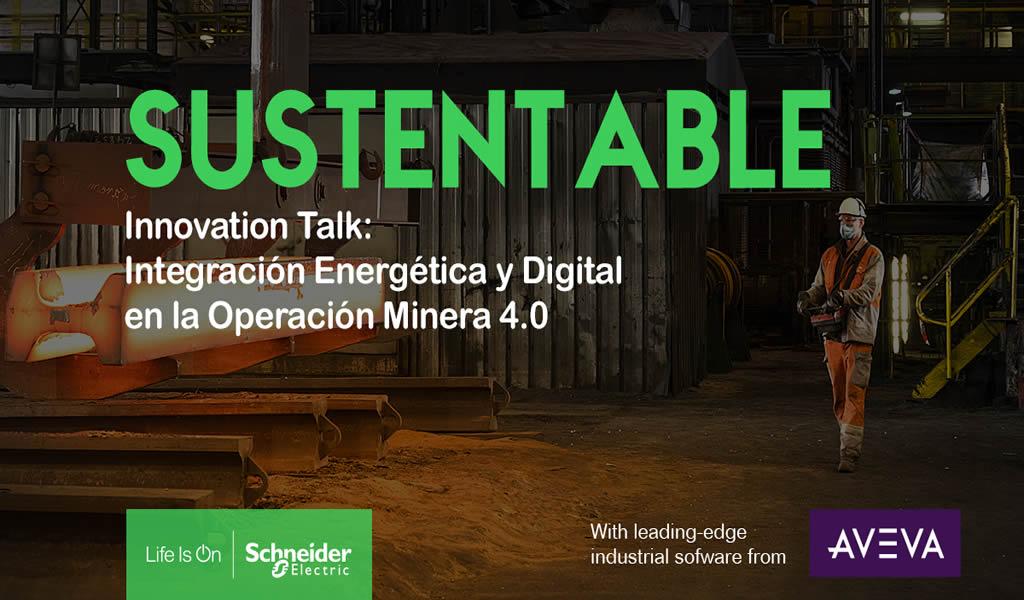 Schneider Electric organiza evento para conocer el futuro de la minería en Latinoamérica