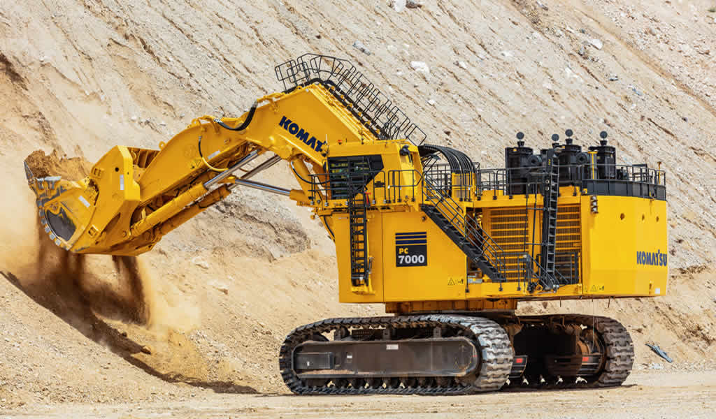 Komatsu teleoperará una excavadora en Arizona desde MINExpo 2021