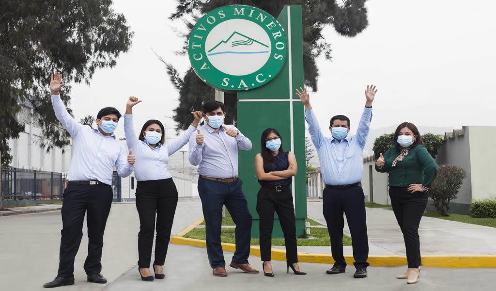 Activos Mineros obtiene por primera vez certificación Great Place to Work™