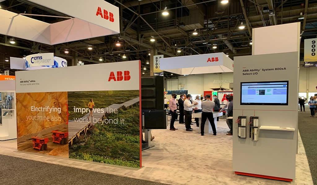 ABB muestra sus diversas soluciones de automatización en MINExpo 2021