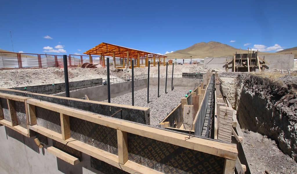 Antapaccay: proyecto de agua potable y saneamiento se entregará en octubre