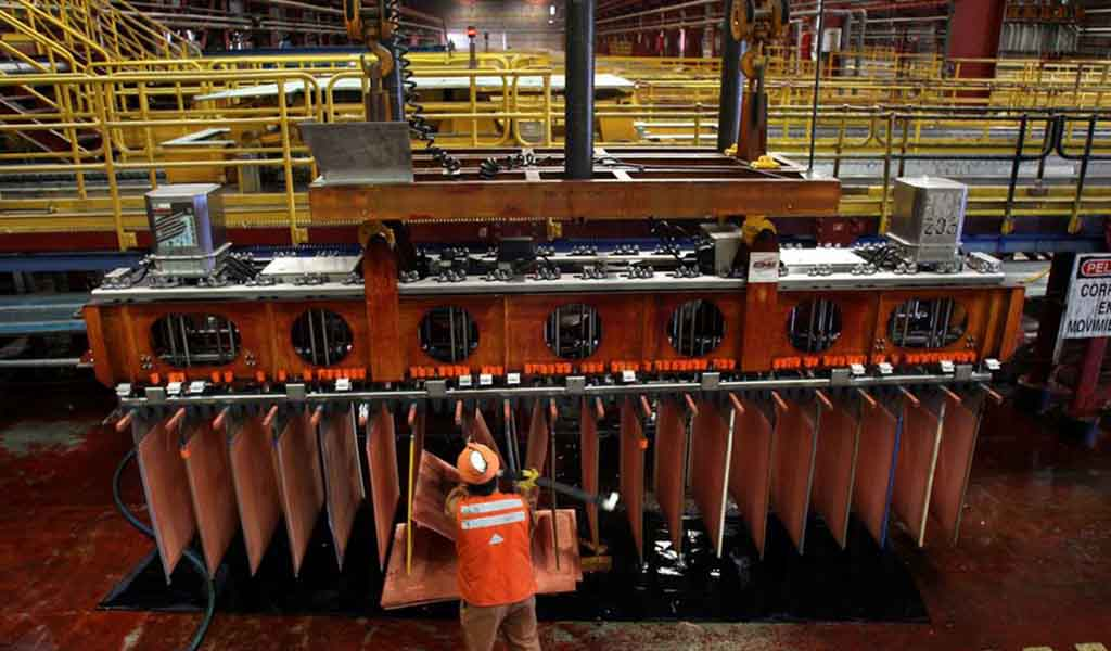 SNMPE: exportaciones de cobre, entre enero a agosto de 2021, ascendieron a US$ 13,169 millones